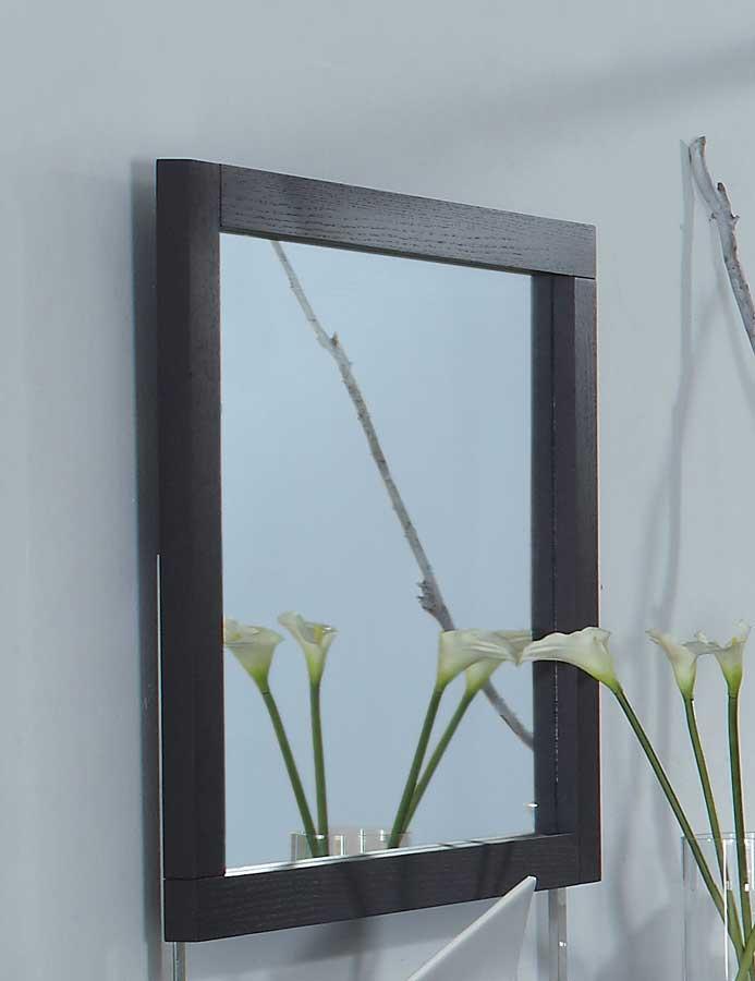 Global Furniture USA Miami Mirror - Wenge