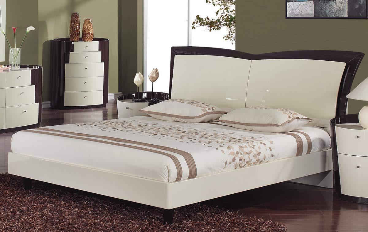 global furniture usa new york platform bedroom set beige