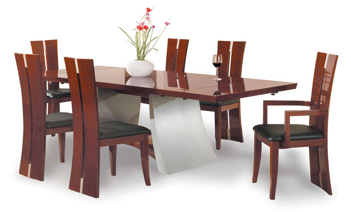 Global Furniture USA Rosa Dining Table Bubenga Rosa T Homelement