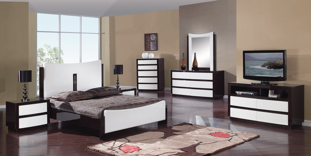 Global Furniture USA Sila Platform Bedroom Set