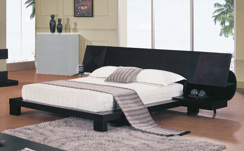 Global Furniture Usa Soho Platform Bed With Built In Night