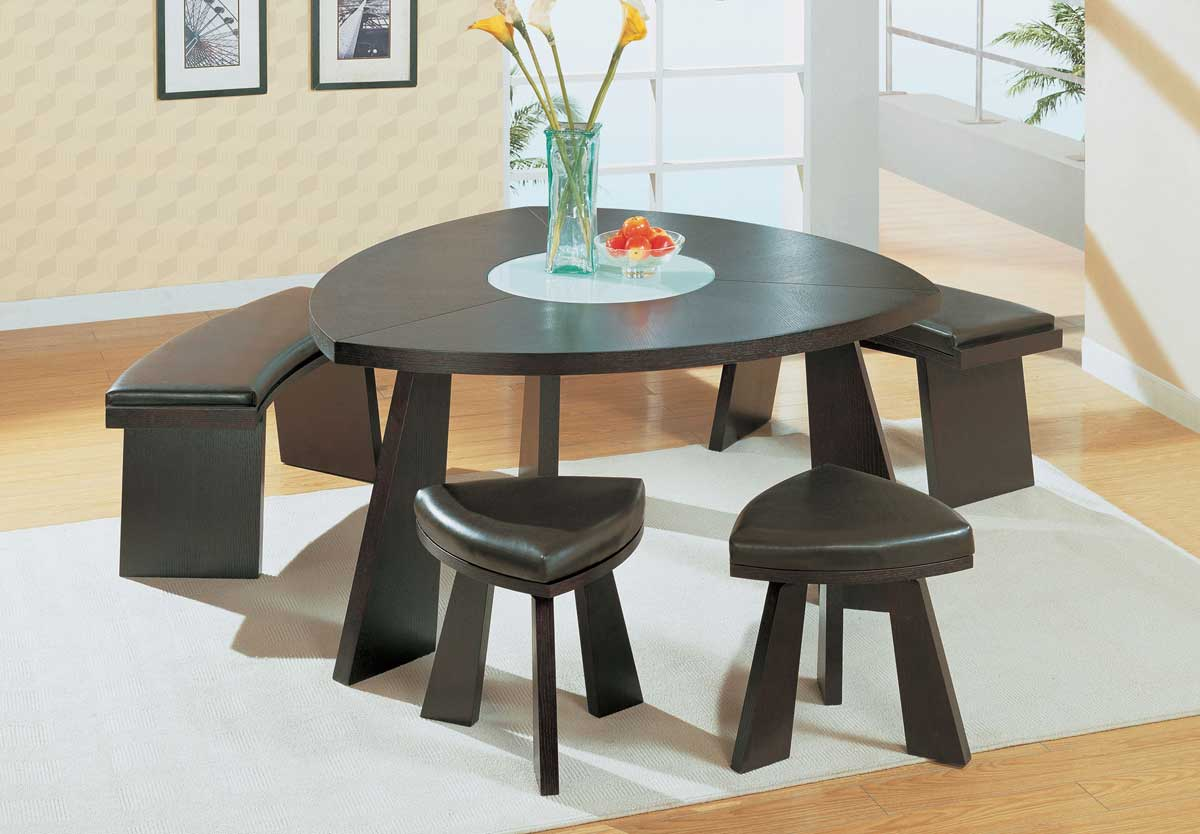 Global Furniture USA GF-64 Dining Set - Wenge