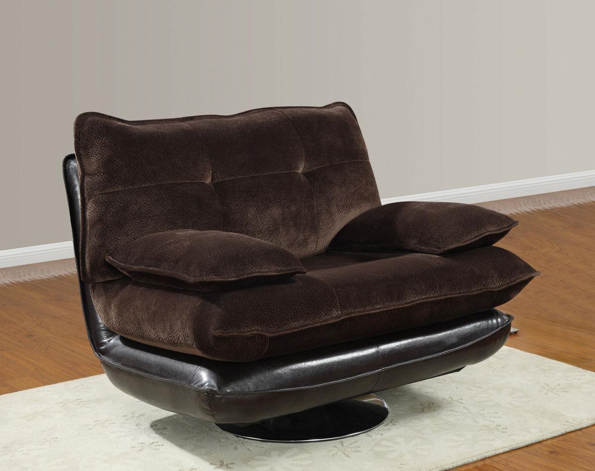 3613 Swivel Chair   Champion Chocolate