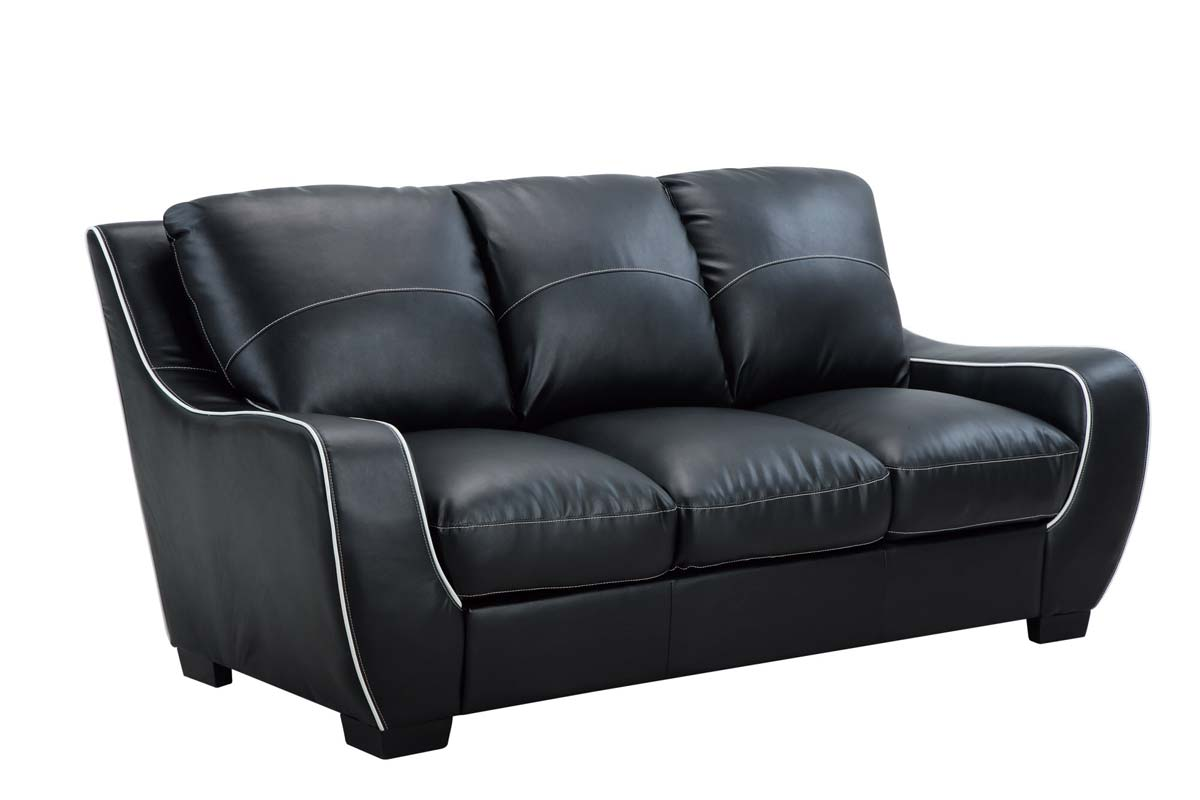 Fresh Black Leather Furniture