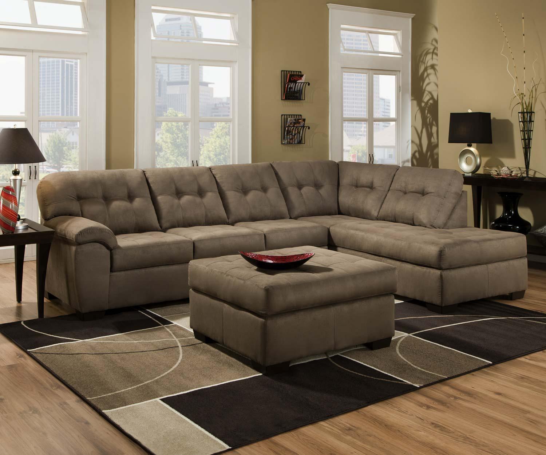 Global Furniture Usa 9560 Sectional Sofa Set Micro Fabric . - Isingteccom Kok Usa 5081b Leather Sectional Sofa Sectional Sofa