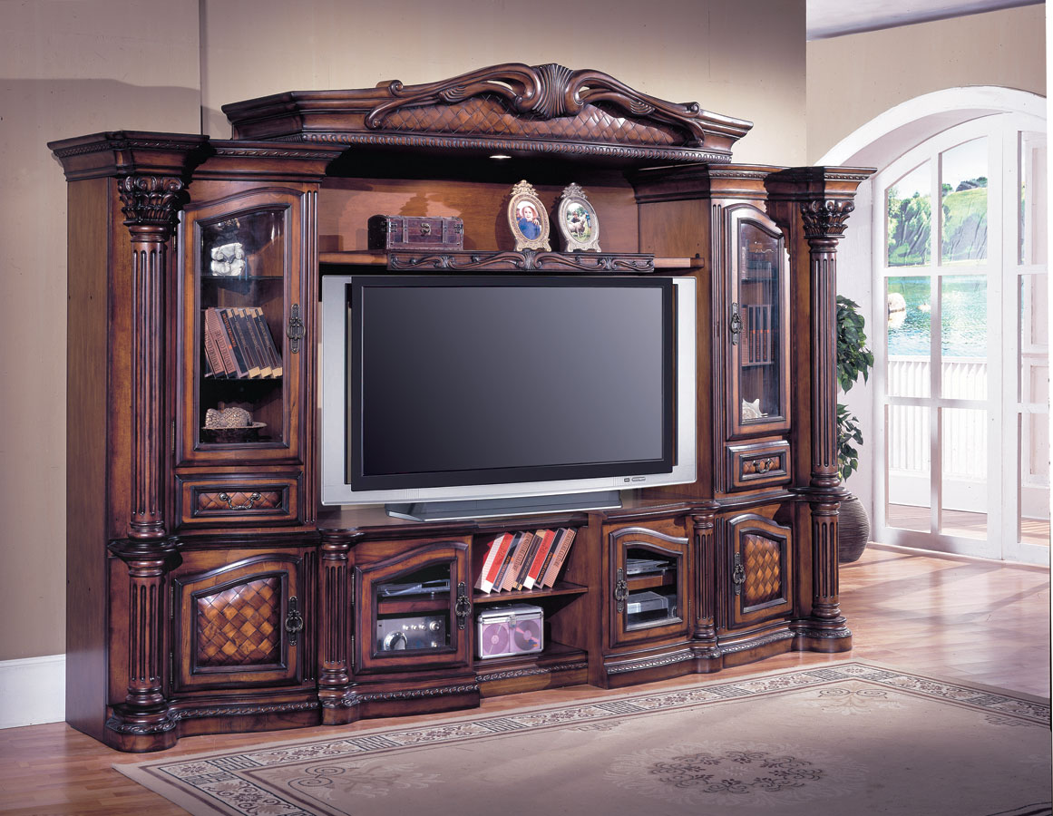Beautiful Parker House Grandview 4 Pc Entertainment Center