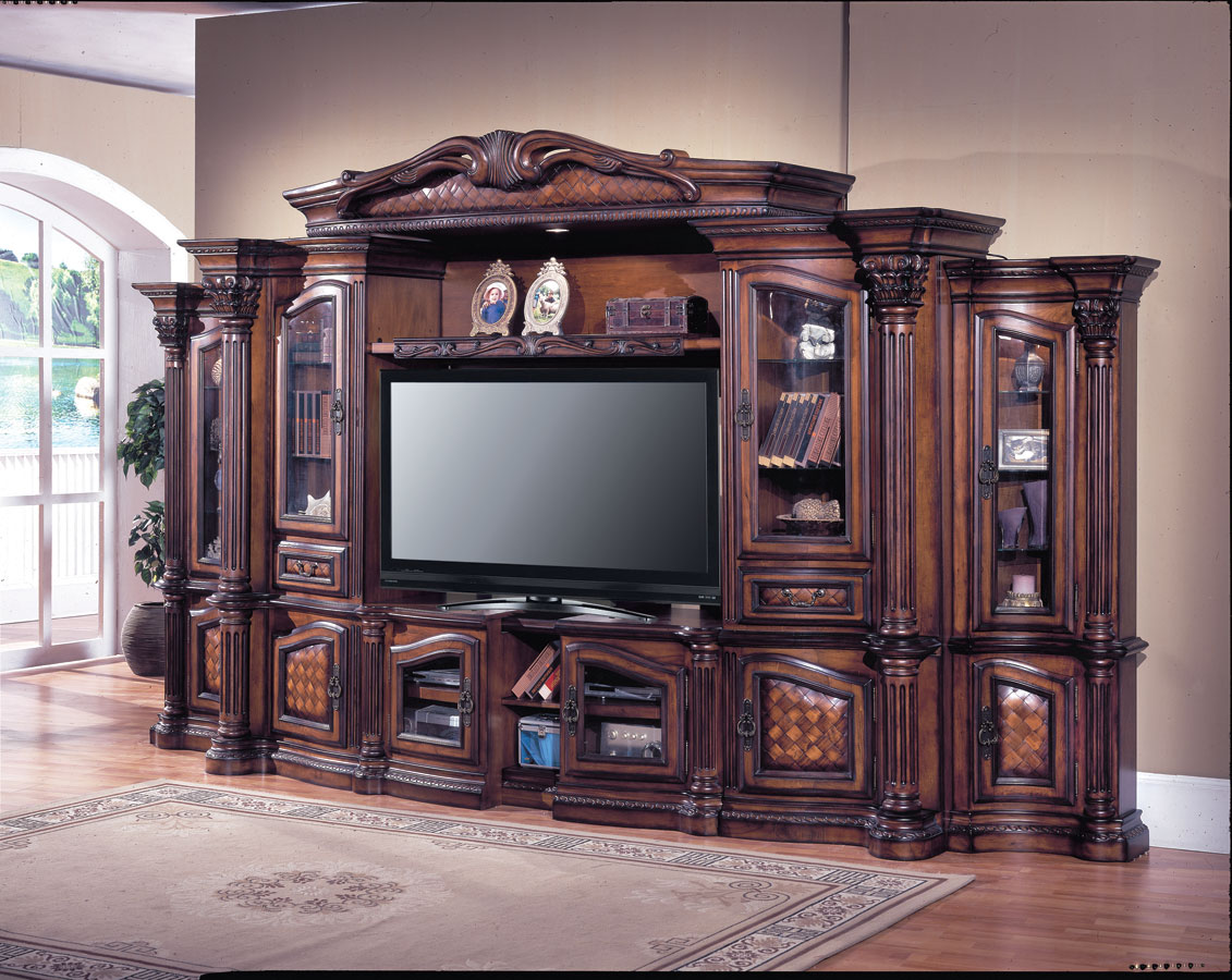 Grandview 6 pc Entertainment Center-Parker House