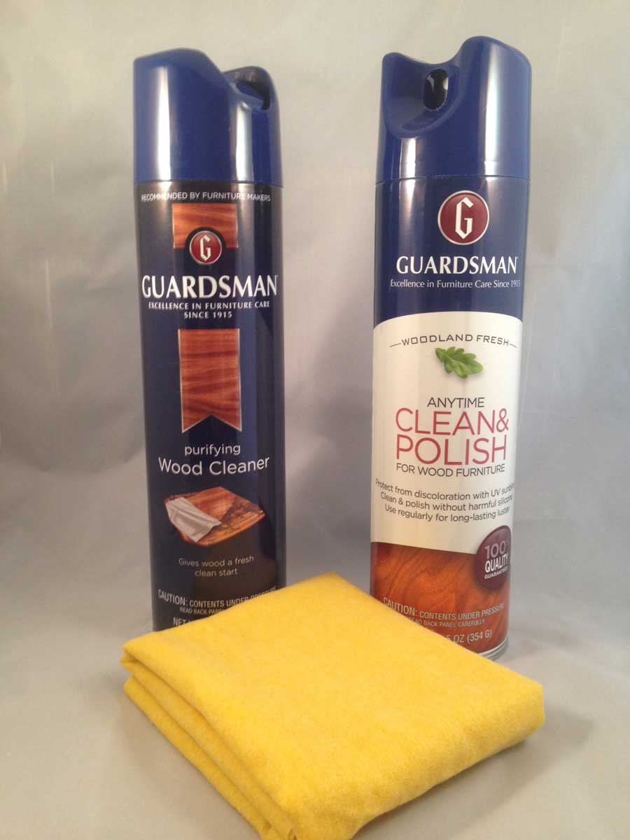 Guardsman Wood Furniture Care Kit