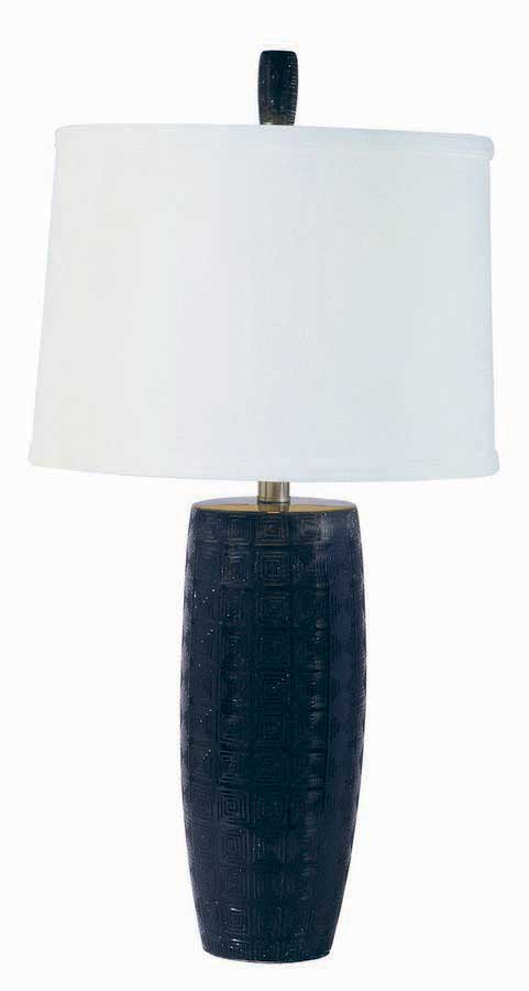 Ebony Table Lamp-Harris Marcus Home