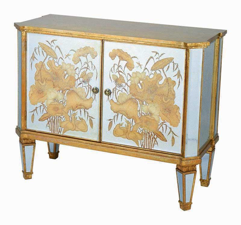 Cheap Harris Marcus Home Blossom Mirrored Cabinet