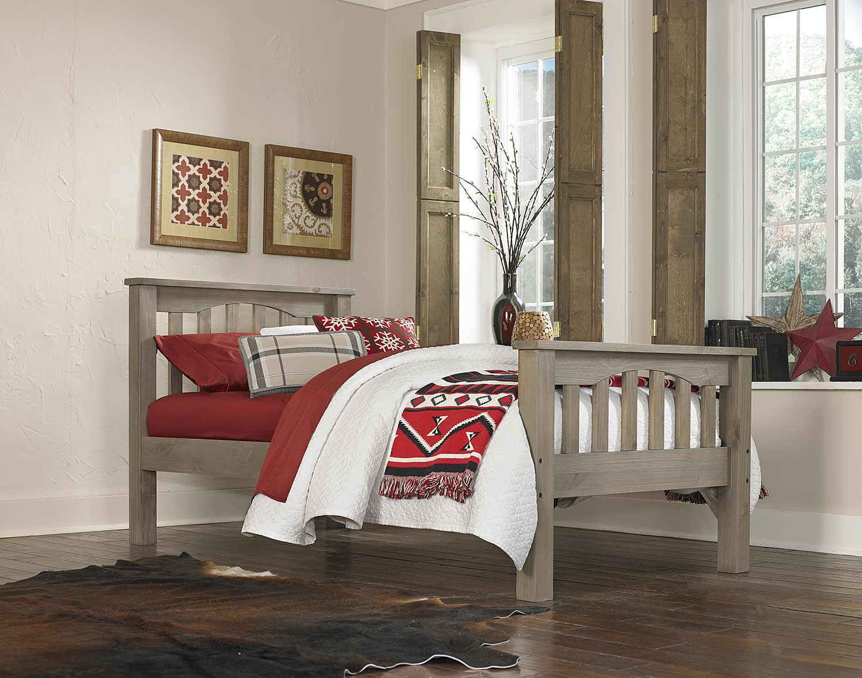 NE Kids Highlands Harper Bed - Driftwood
