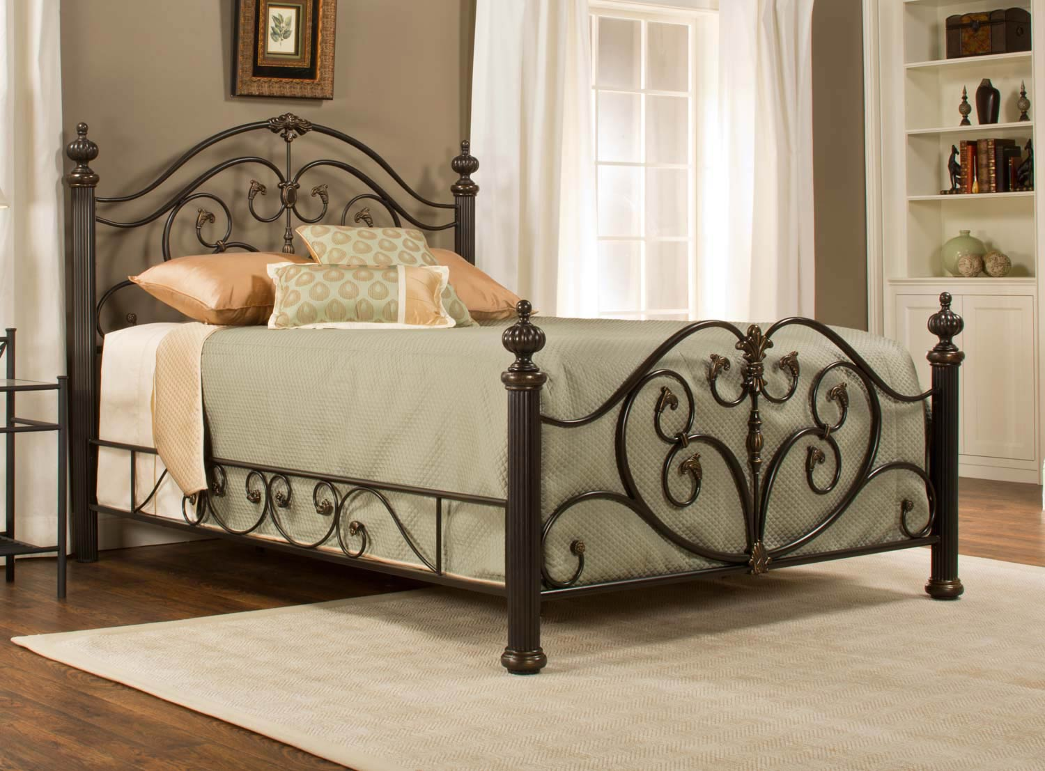 Hillsdale Grand Isle Bed - Brushed Bronze