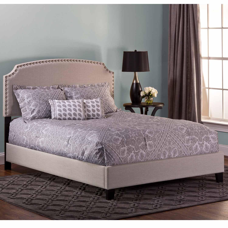 Hillsdale Lani Bed - Light Linen/Grey