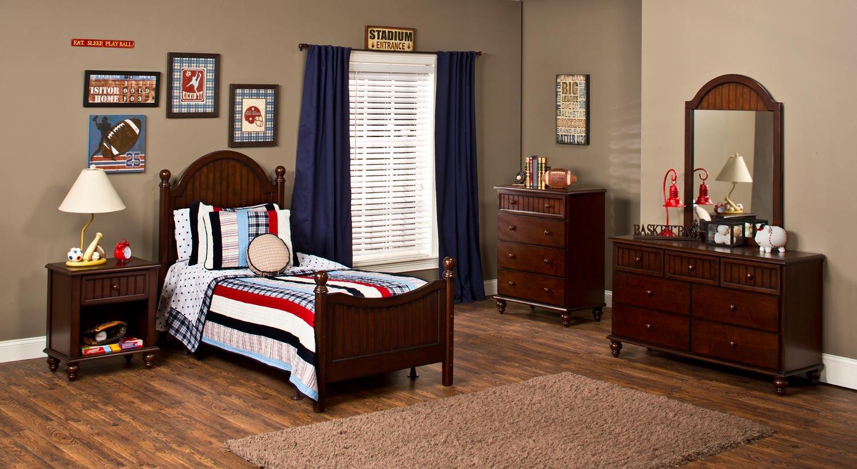 Hillsdale Westfield Bedroom Collection - Espresso