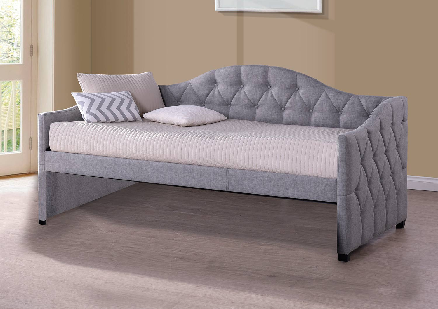 Hillsdale Jamie Daybed - Grey Fabric