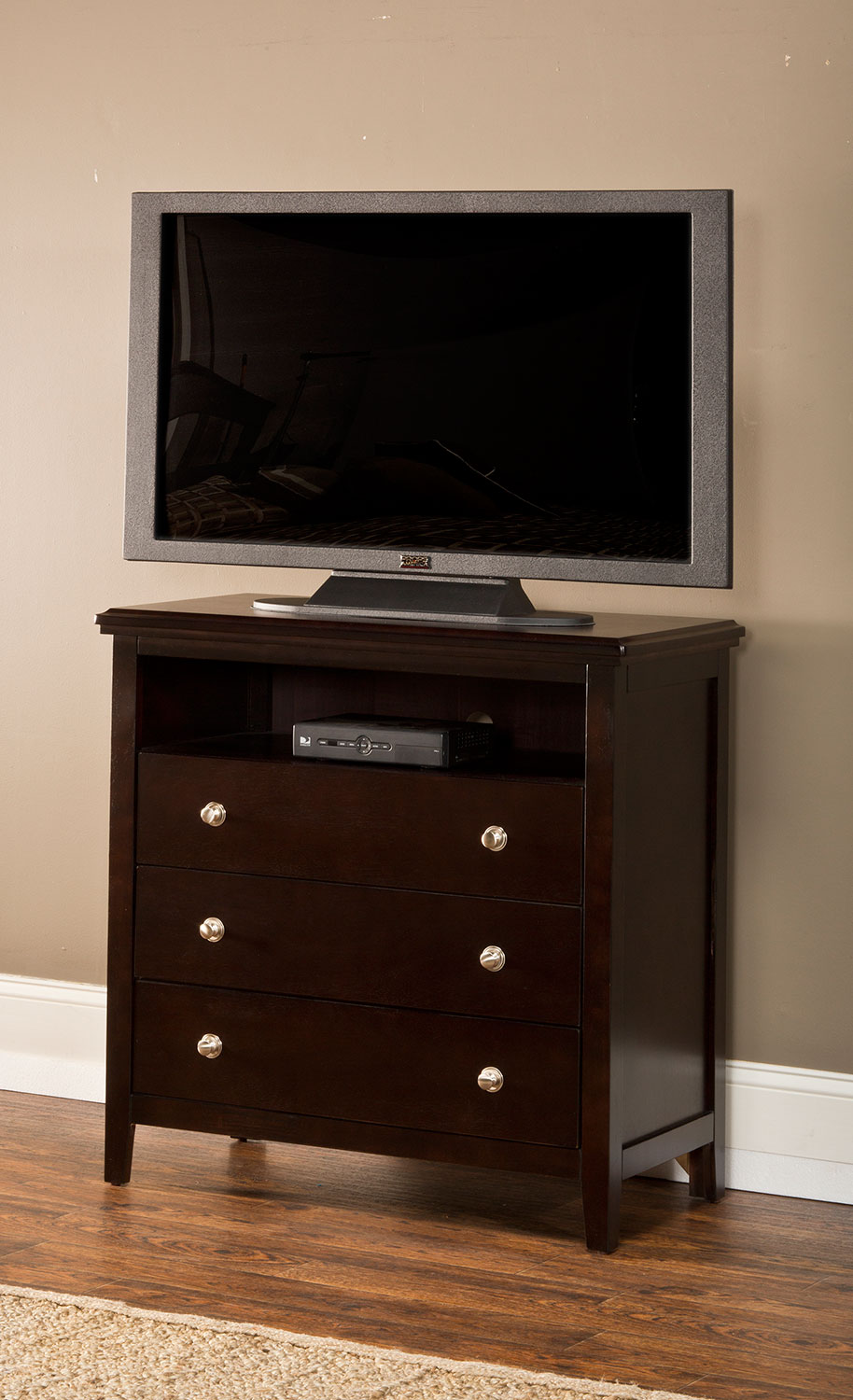 Hillsdale Metro TV Chest - Dark Espresso