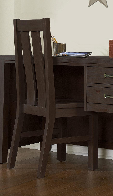 NE Kids Highlands Desk Chair - Espresso