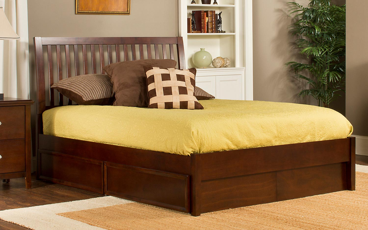 Hillsdale Metro Liza Storage Bed - Cherry