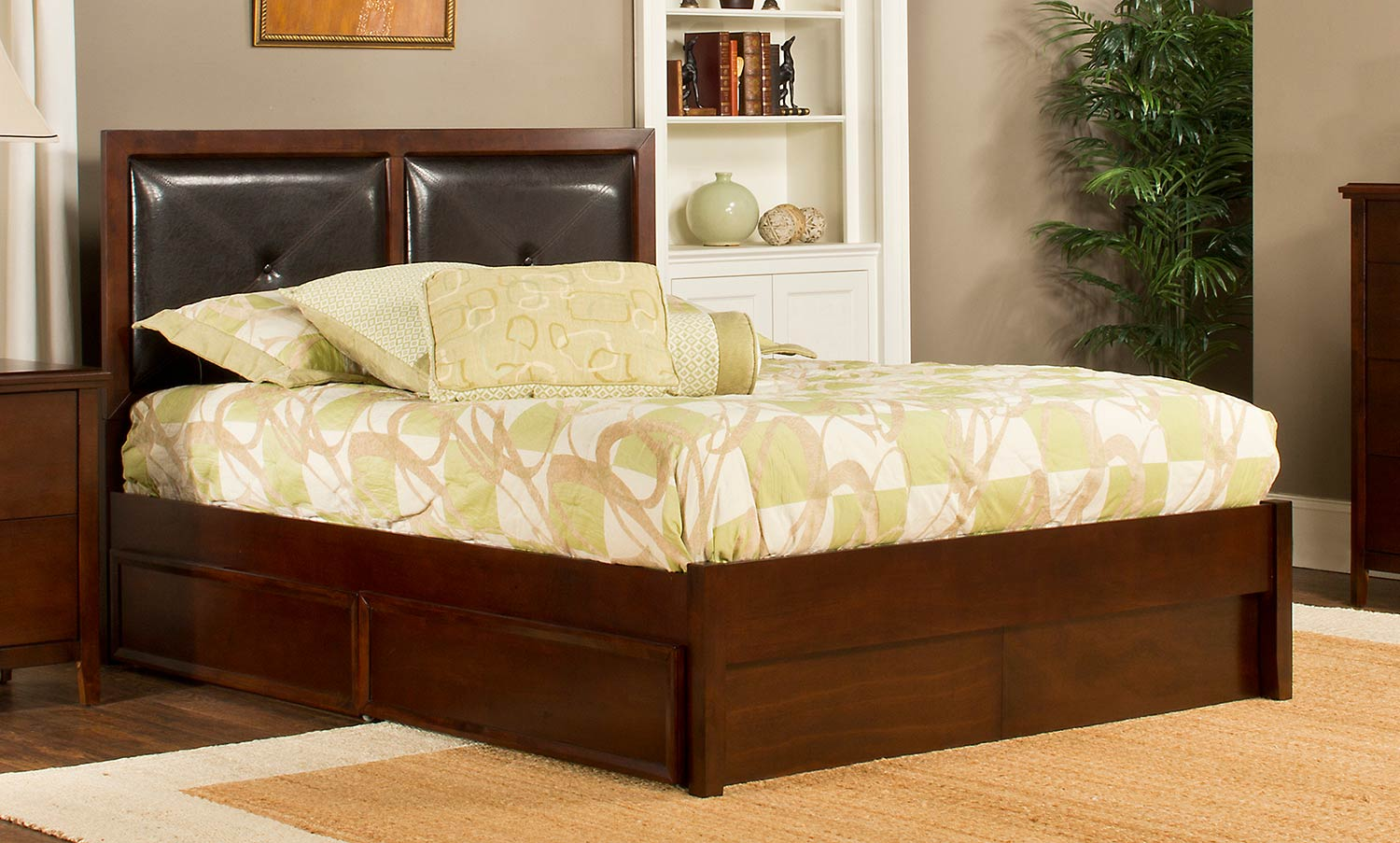 Hillsdale Metro Martin Storage Bed - Cherry
