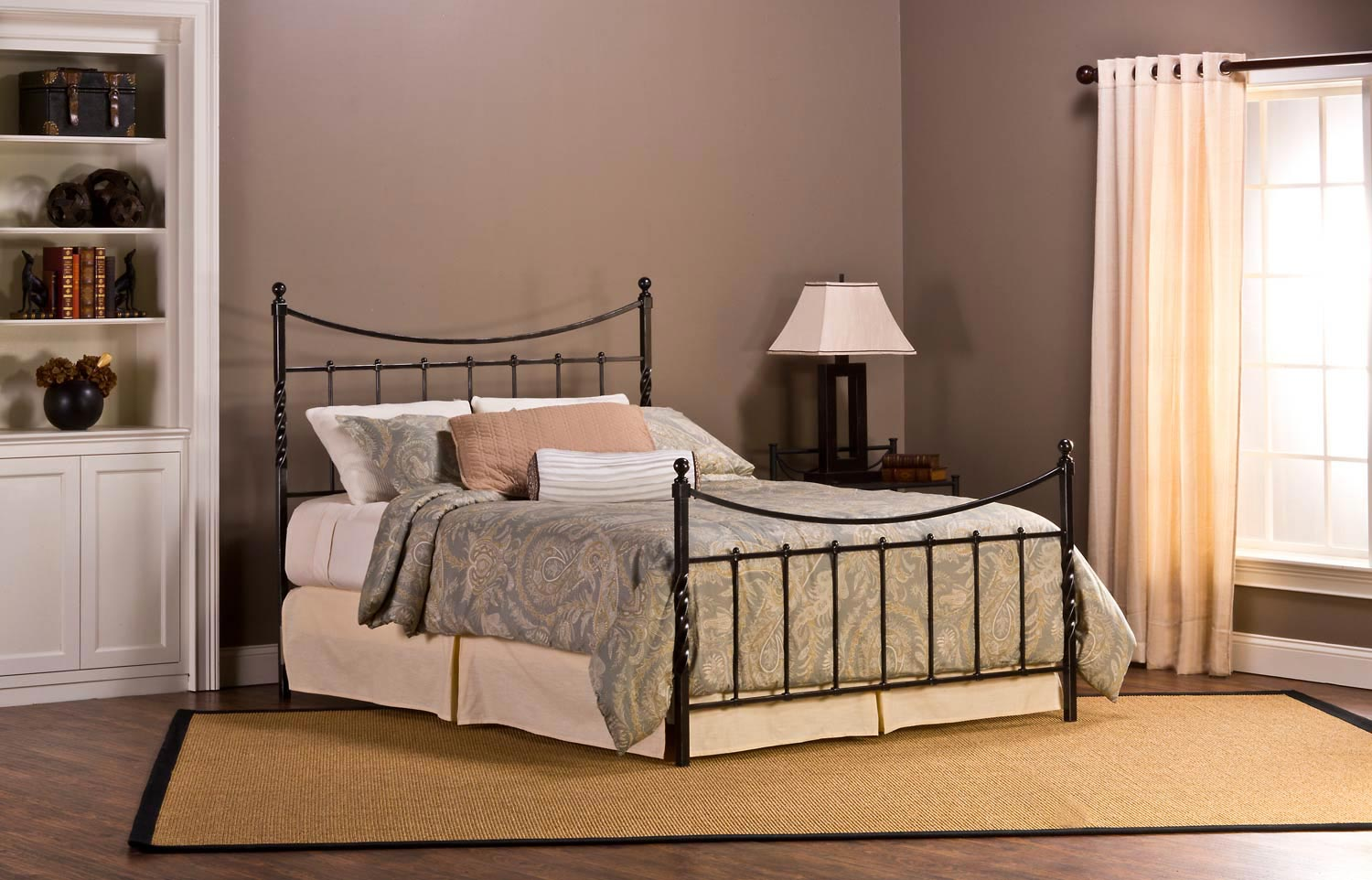 Hillsdale Sebastion Bed - Weathered Black