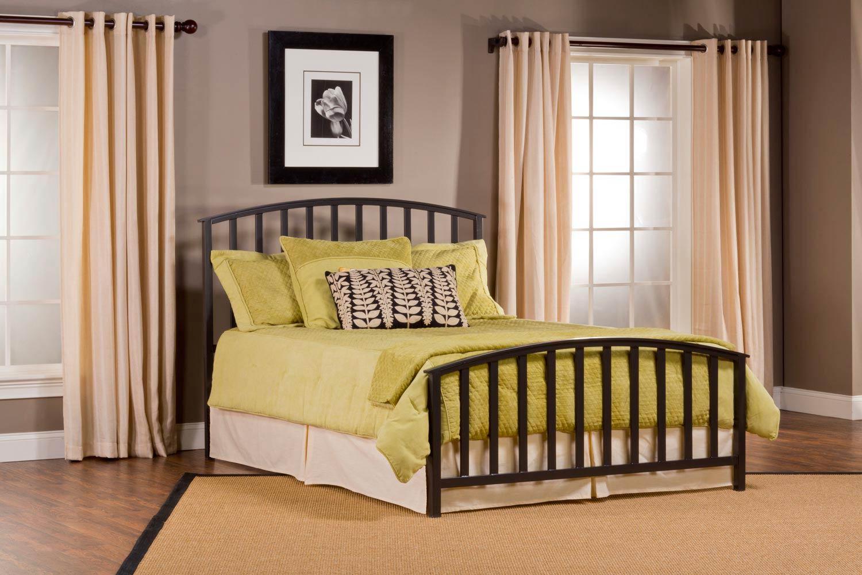 Hillsdale Apollo Bed - Charcoal Black