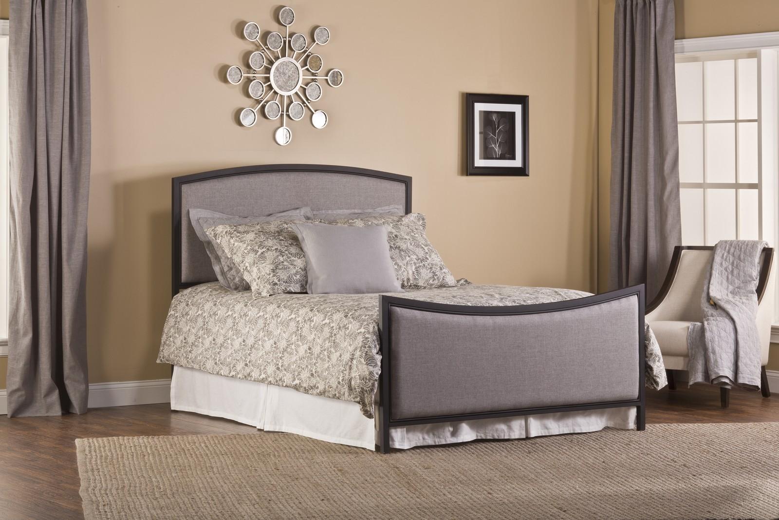 Hillsdale Bayside Bed Set - Textured Black - Grey
