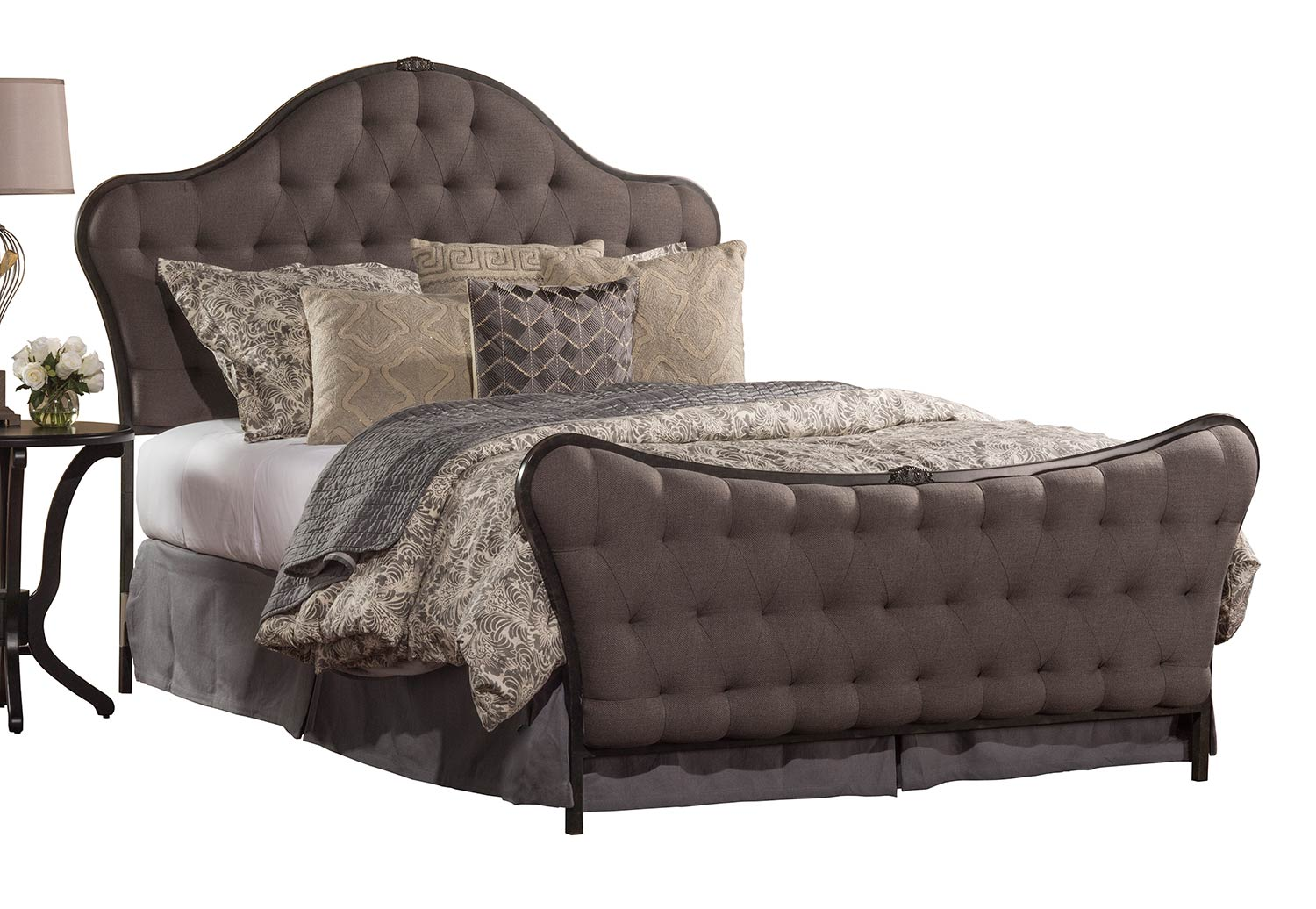 Hillsdale Jefferson Queen Size Bed - Old Black