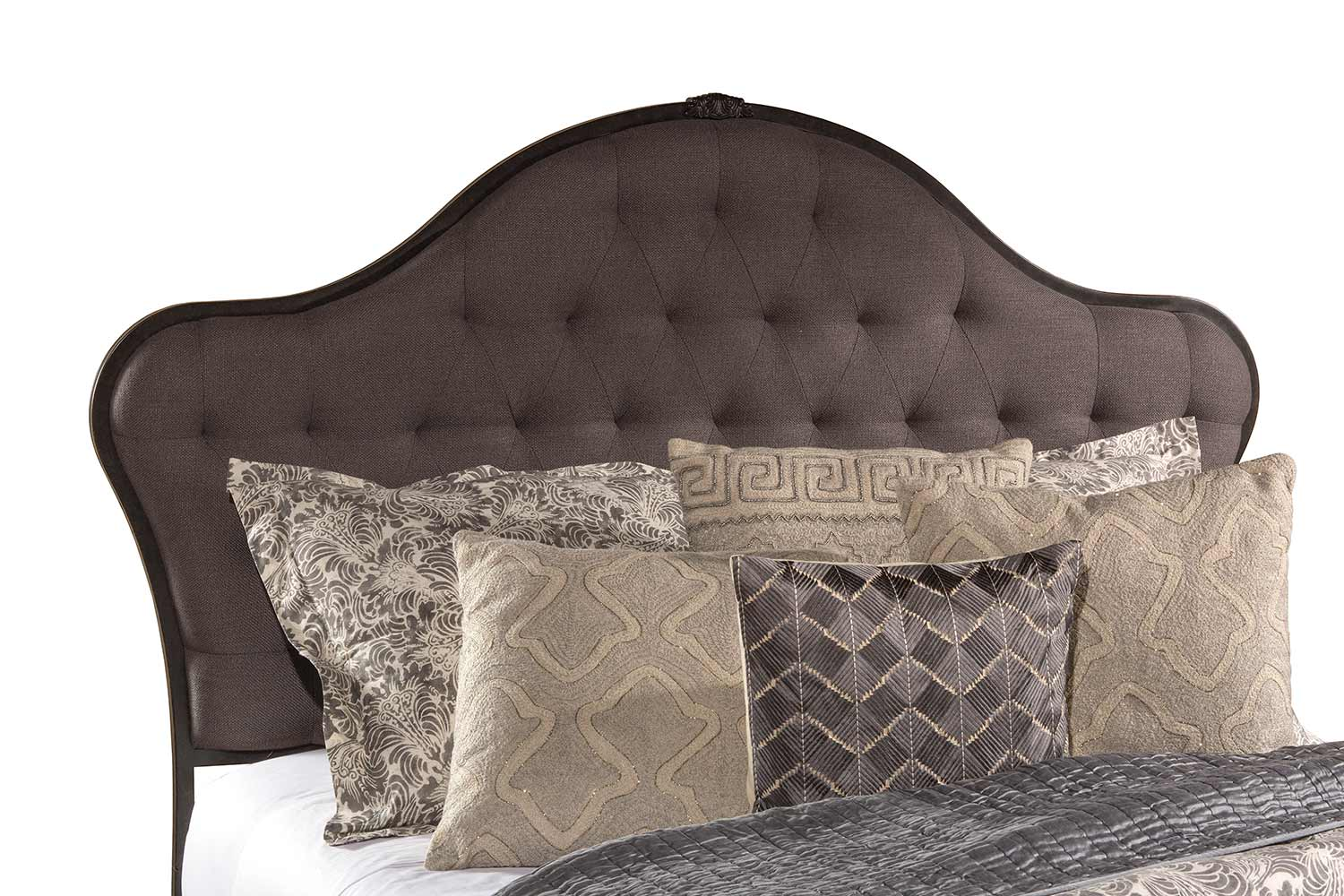 Hillsdale Jefferson Headboard - Old Black
