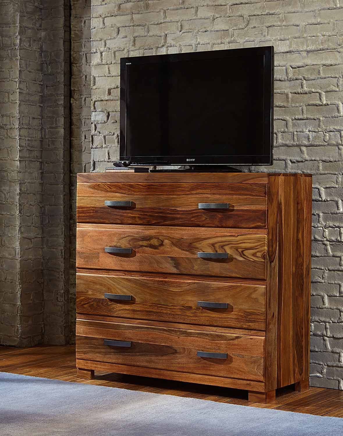Hillsdale Madera Media Chest - Natural
