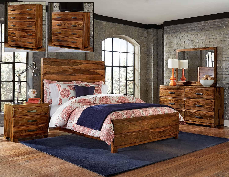Hillsdale Madera Platform Bedroom Set - Natural