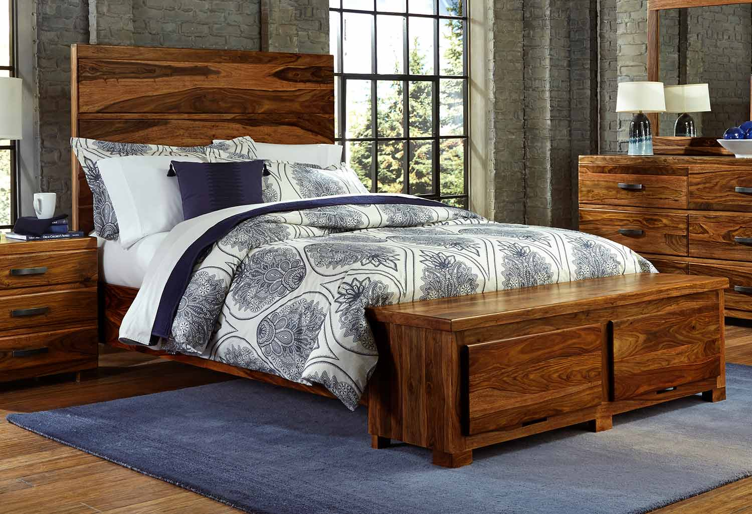 Hillsdale Madera Storage Bed - Natural