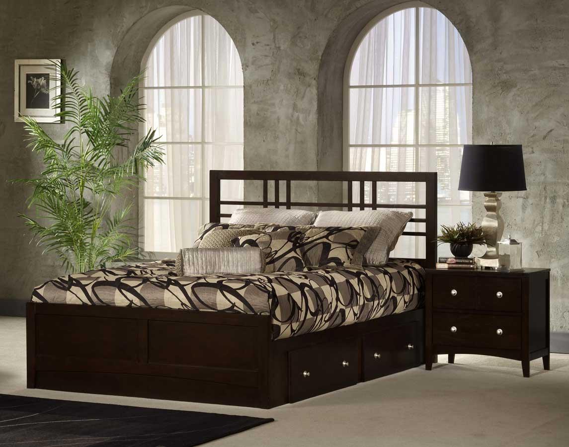 Hillsdale Tiburon Kona Storage Bed