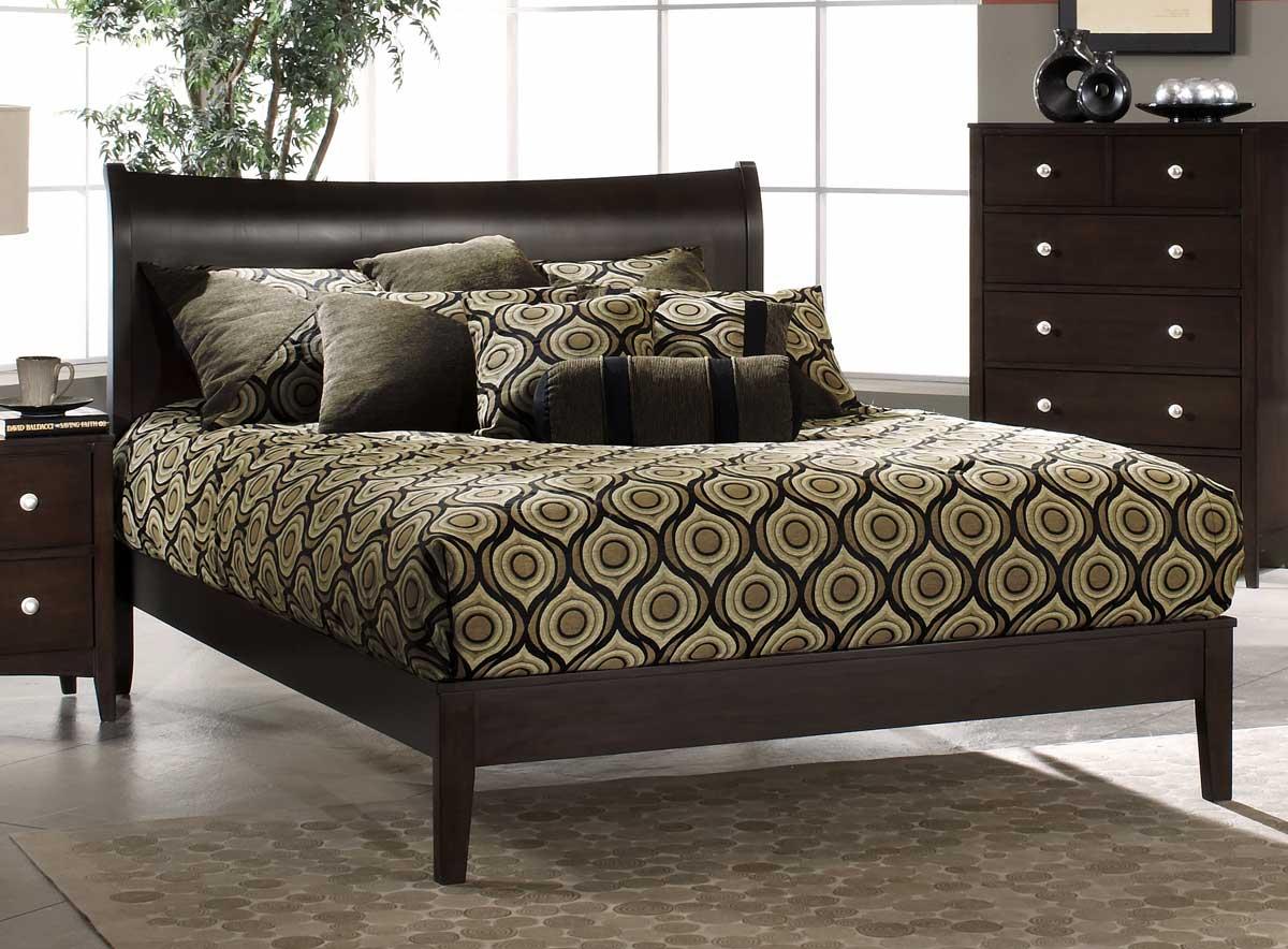 Hillsdale 1418-507W Tiburon Bentwood Platform Bed