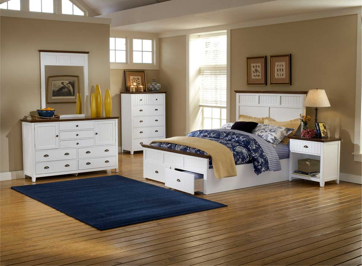 Cheap Hillsdale Furniture Sea Coast Bedroom Set