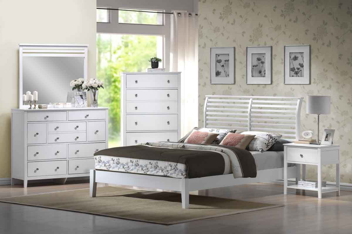 Hillsdale Dio White Bedroom Set