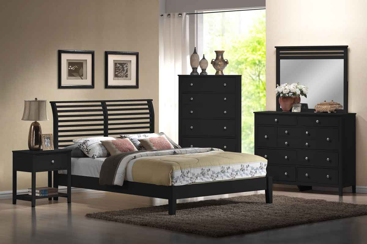 Hillsdale Dio Black Bedroom Set