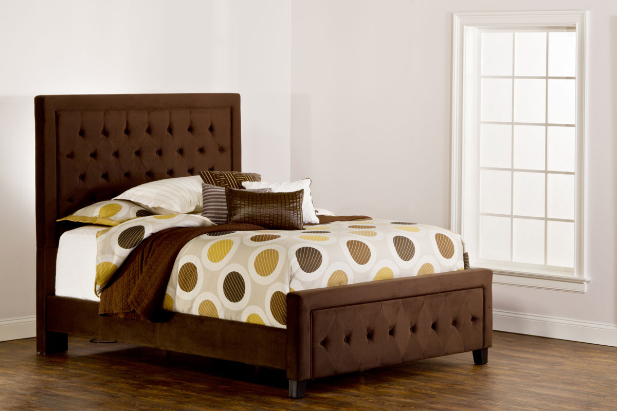 Hillsdale Kaylie Bed - Chocolate 1554-BED