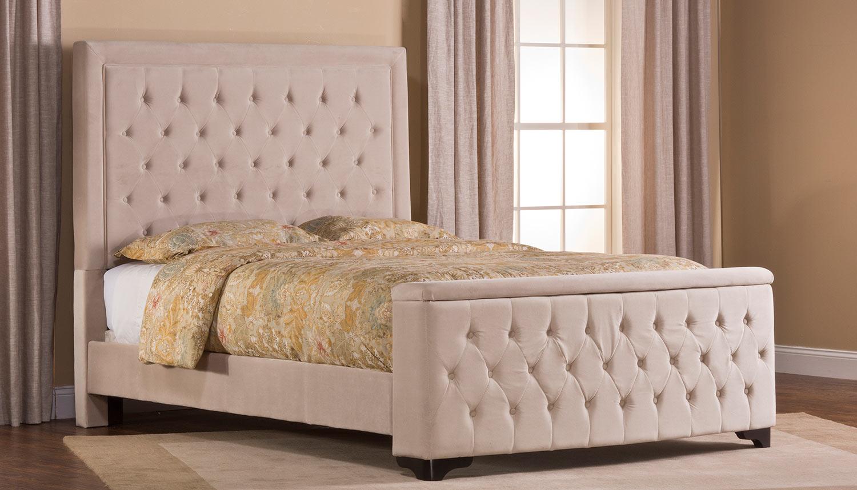 Hillsdale Kaylie Bed with Storage - Buckwheat