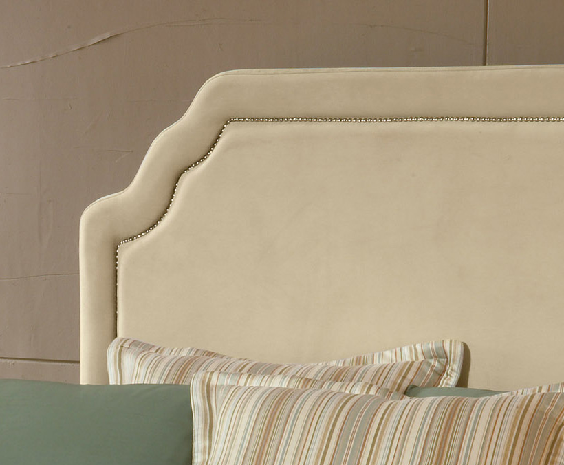 Hillsdale Carlyle Fabric Bed - Buckwheat