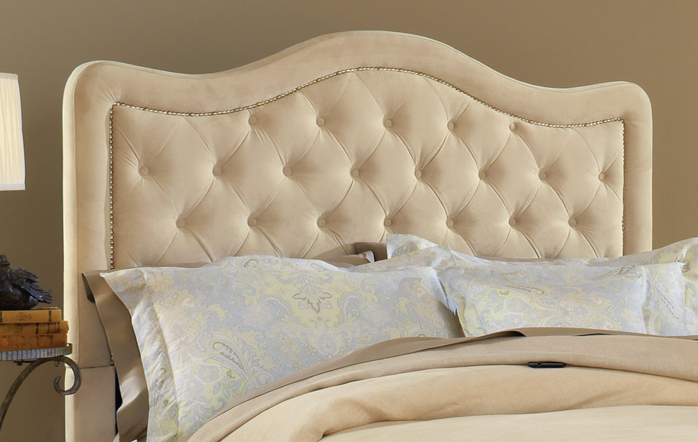 Hillsdale Trieste Tufted Upholstered Bed - Buckwheat