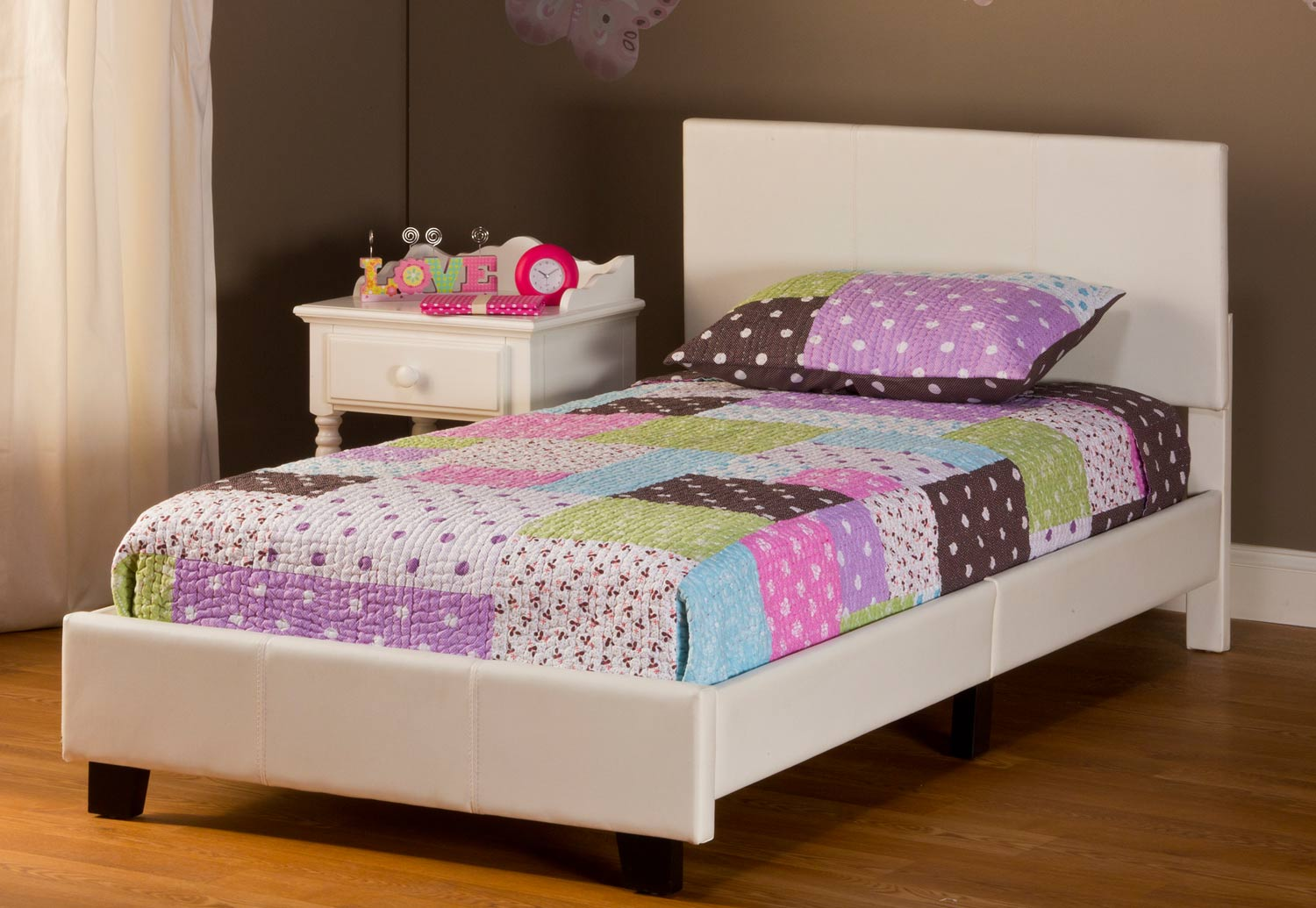 Hillsdale Springfield Bed - White