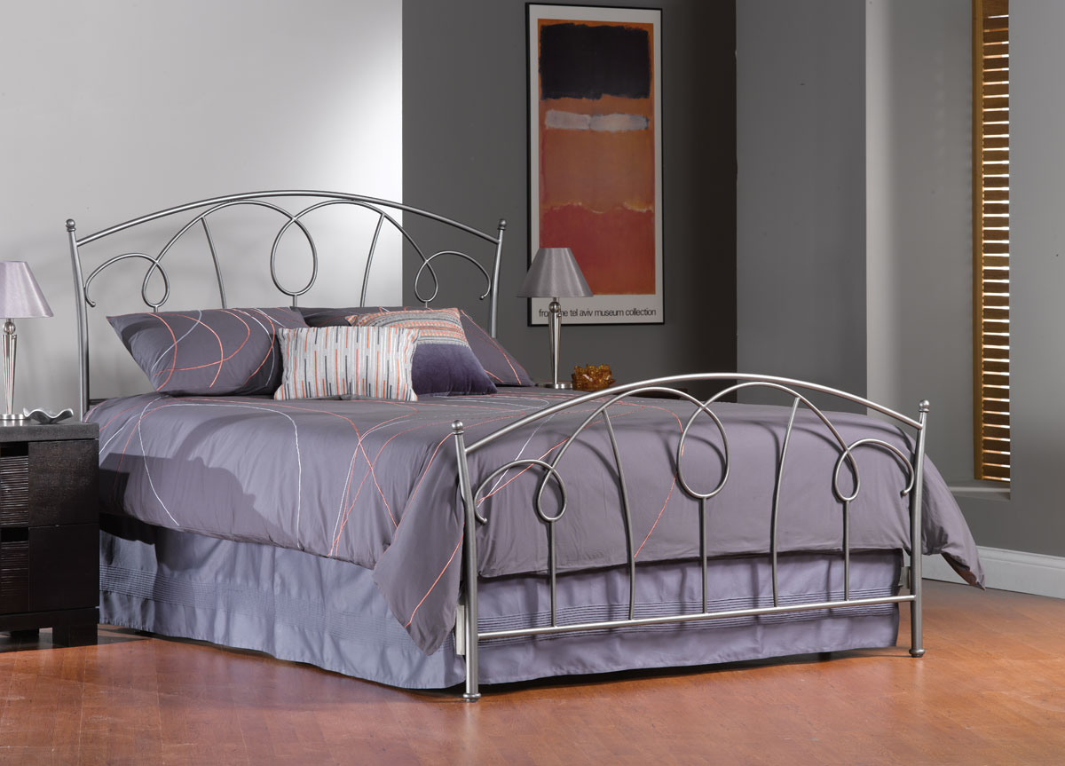 Hillsdale Carson Bed - Pewter