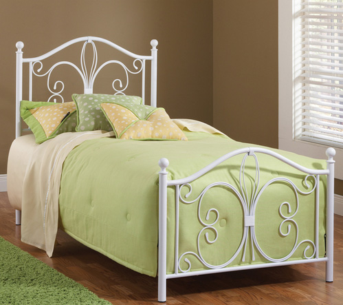 Hillsdale Ruby Bed - Textured White