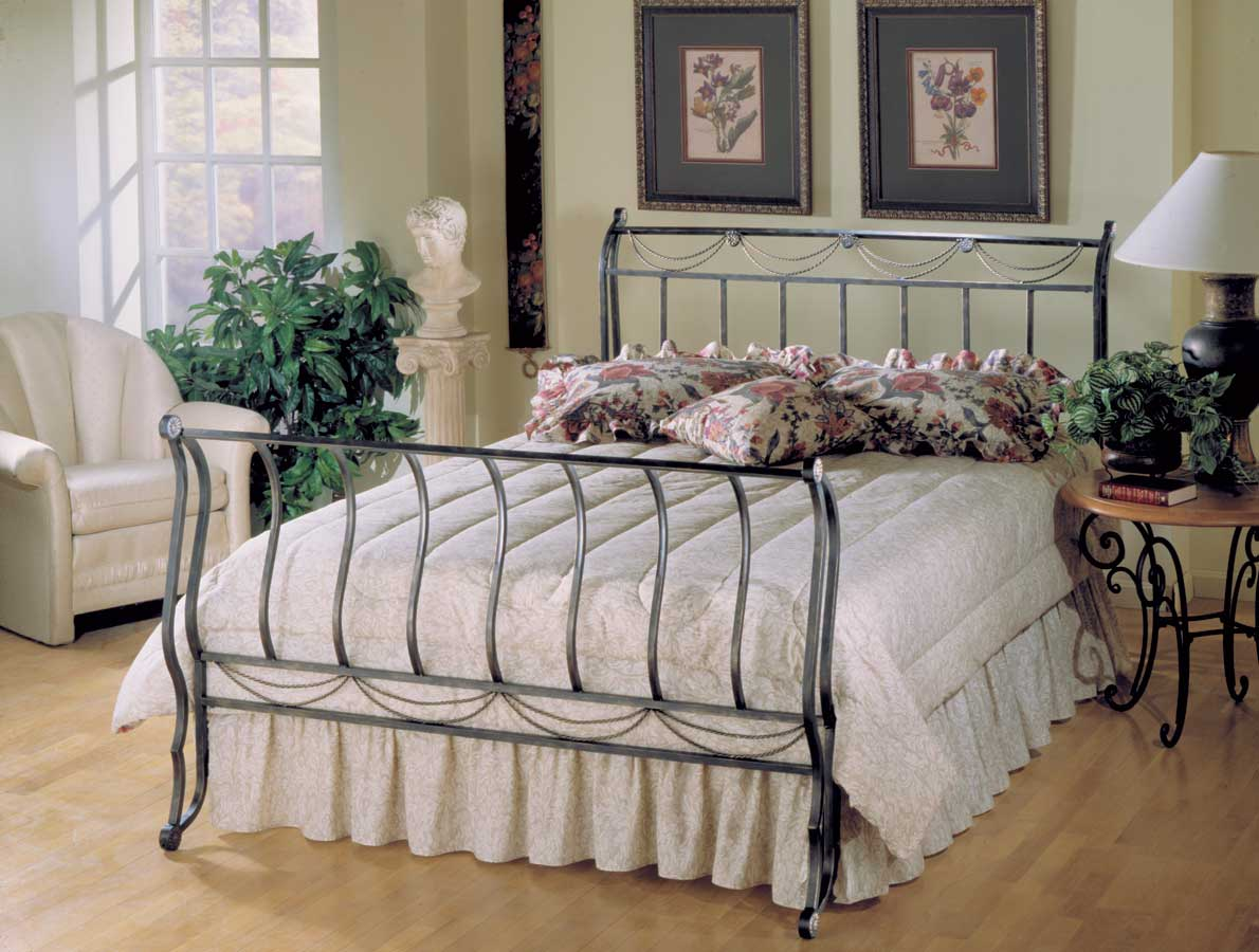 Hillsdale Camelot Metal Bed