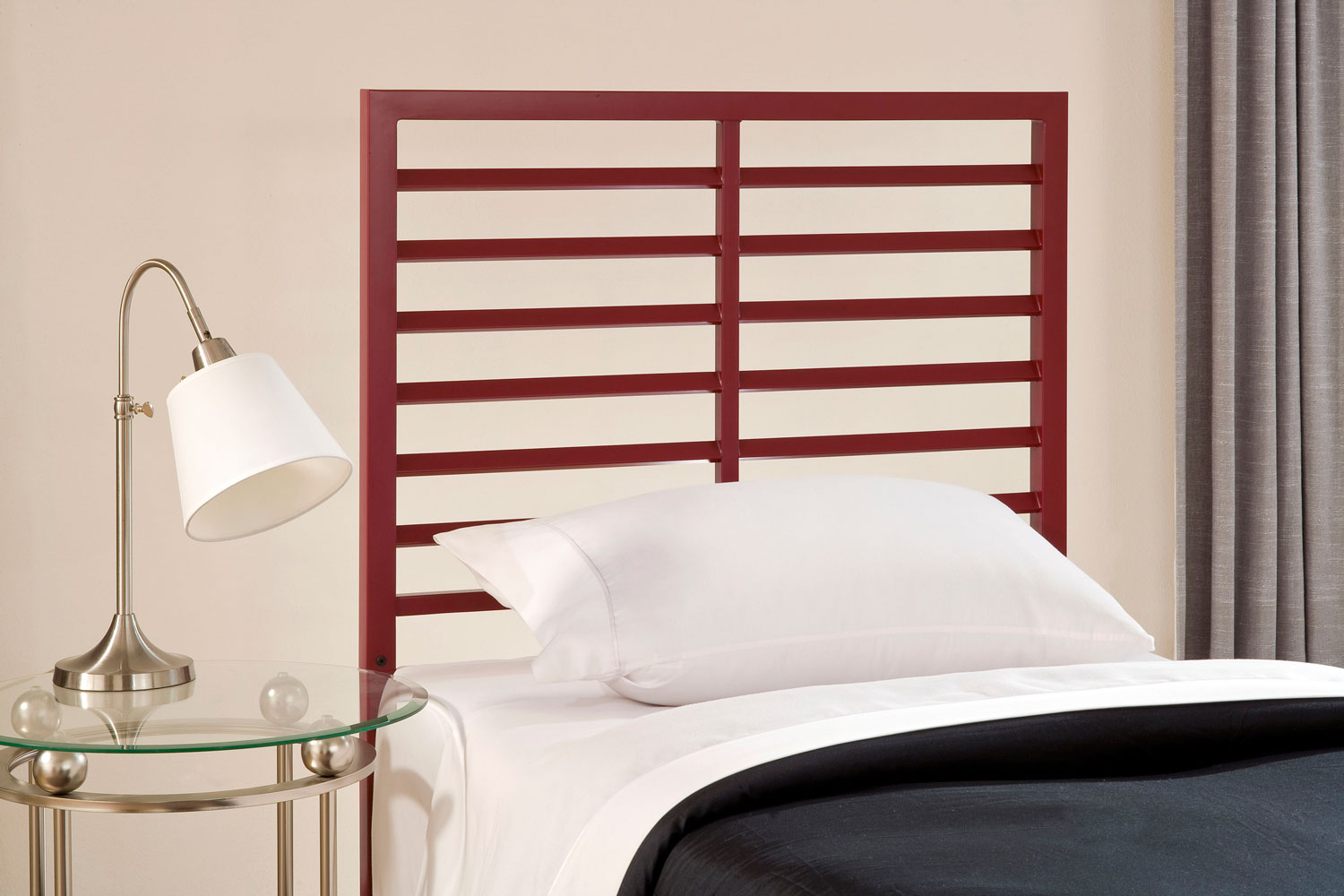 Hillsdale Latimore Twin Bed - Red