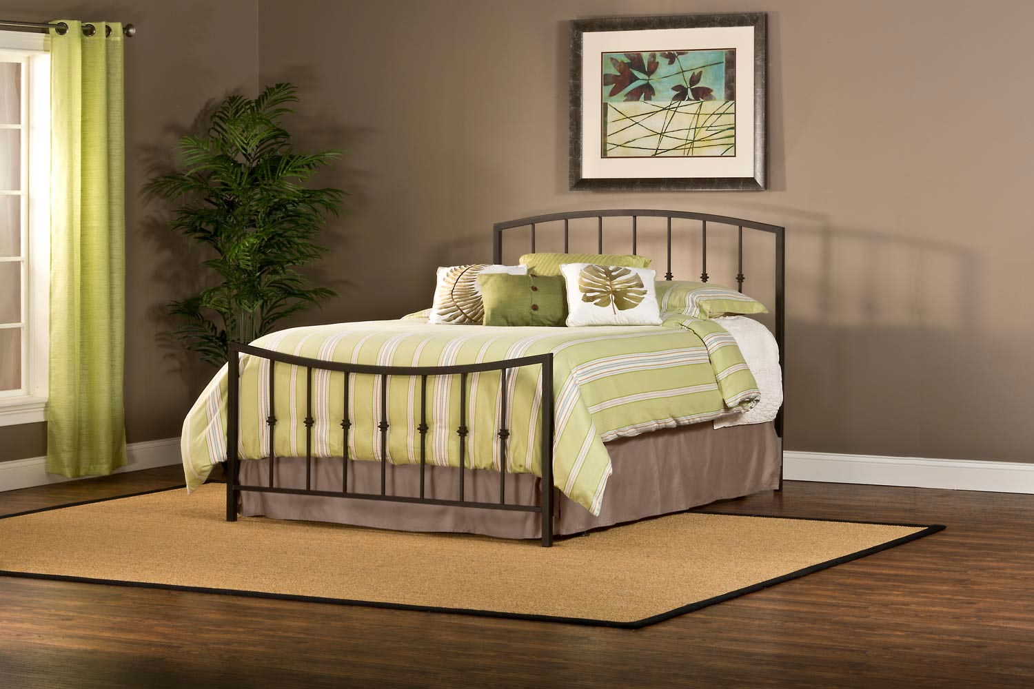 Hillsdale Sausalito Bed - Gold Sparkle