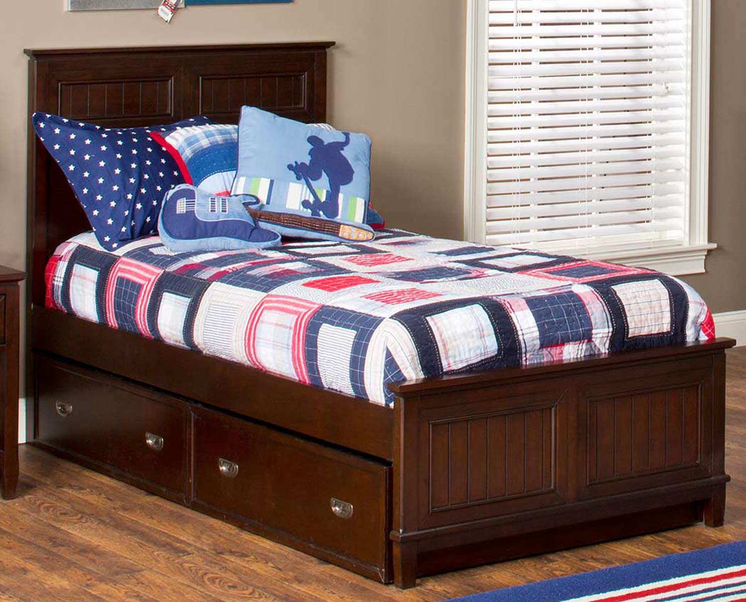 Hillsdale Nantucket Bed - Espresso