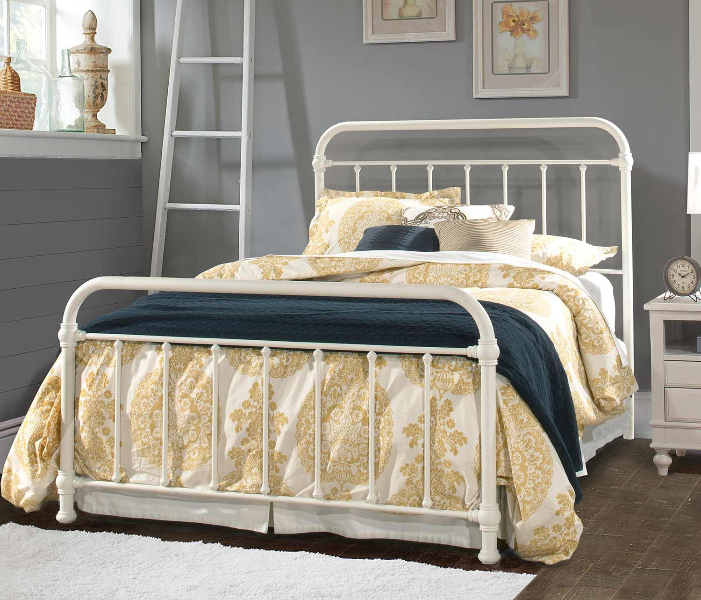 Hillsdale Kirkland Bed - Soft White