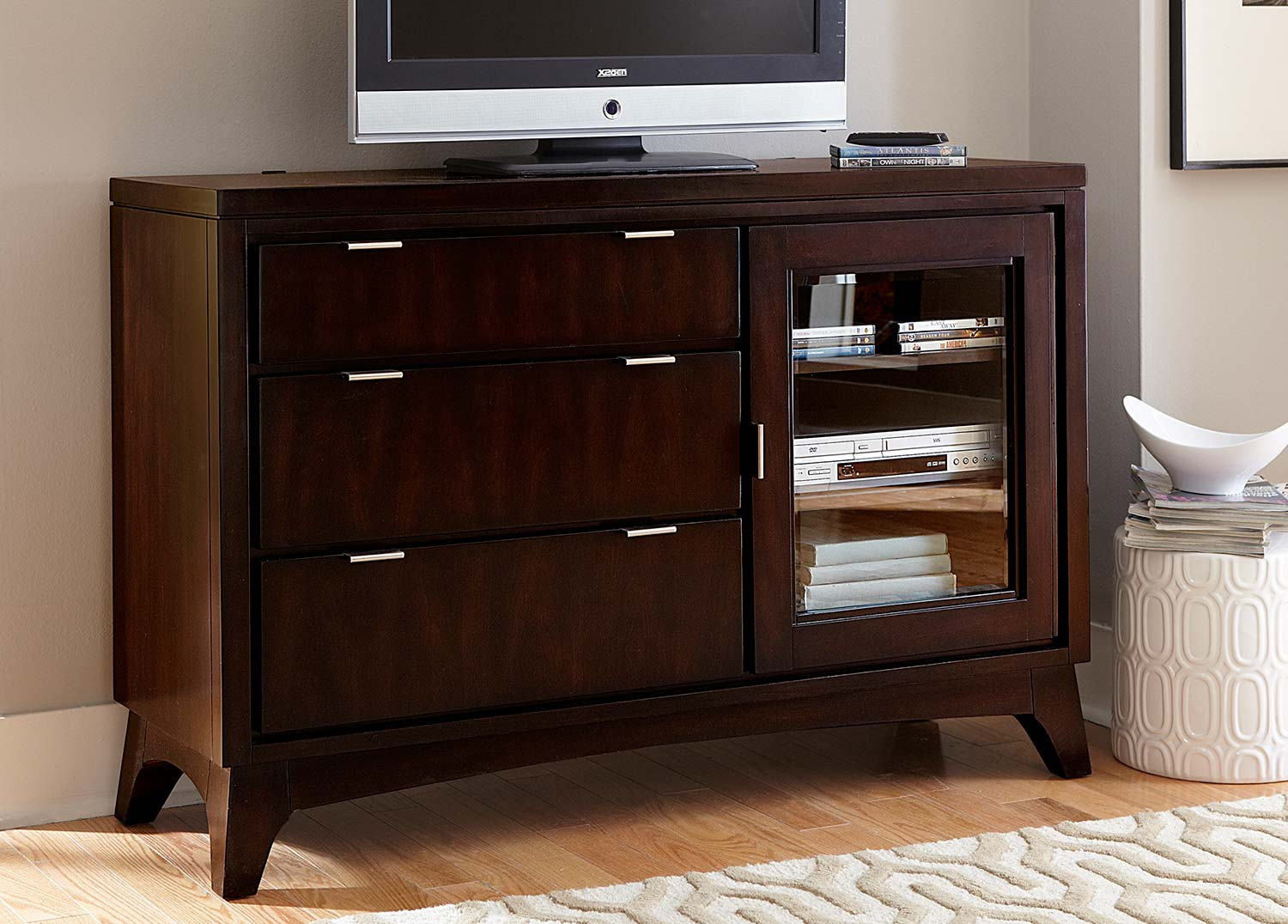 Hillsdale Denmark TV Chest - Dark Espresso
