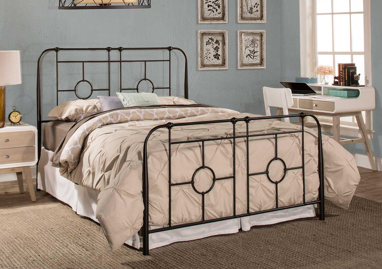 Hillsdale Trenton Bed - Black Sparkle